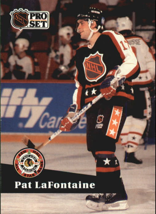 1991-92 Pro Set #308 Pat LaFontaine AS