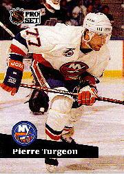 1991-92 Pro Set #433 Pierre Turgeon