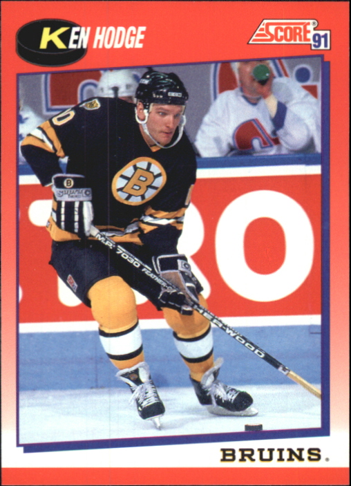 1991-92 Score Canadian Bilingual #113 Ken Hodge Jr.