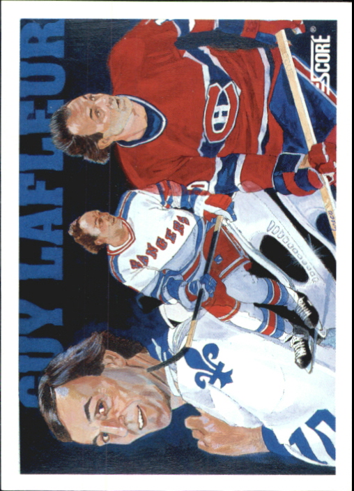 1991-92 Score Canadian Bilingual #293 Guy Lafleur