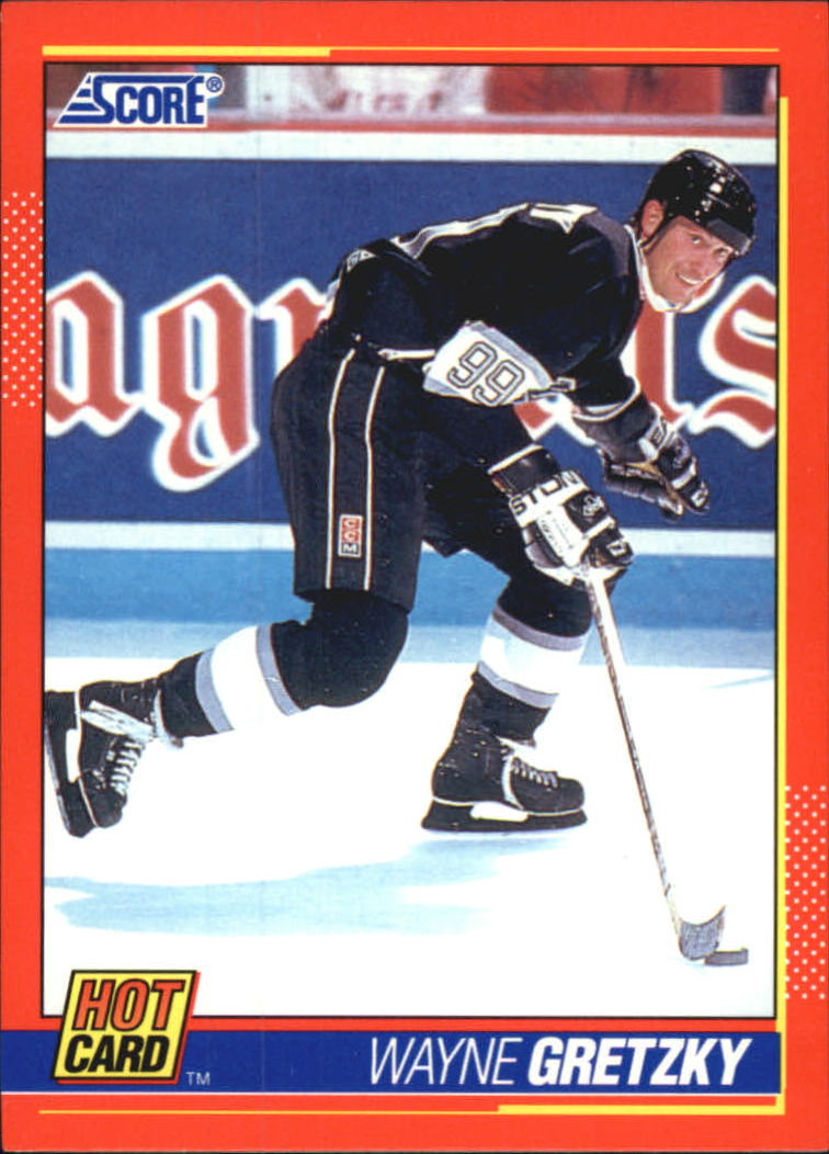 1991-92 Score Hot Cards #2 Wayne Gretzky