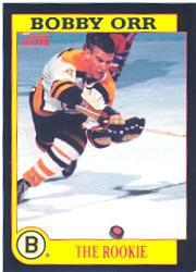 1991-92 Score Bobby Orr #5 Bobby Orr/The Rookie/(Found only in/American English packs)