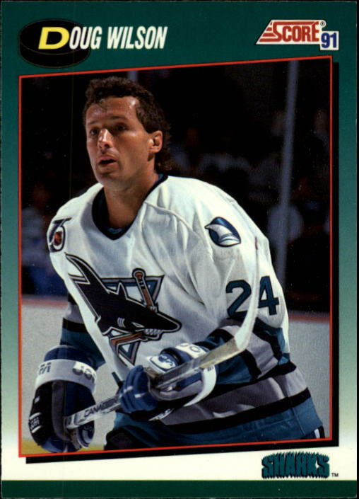1991-92 Score Rookie/Traded #1T Doug Wilson