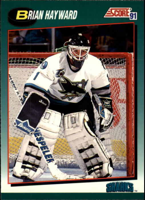 1991-92 Score Rookie/Traded #4T Brian Hayward