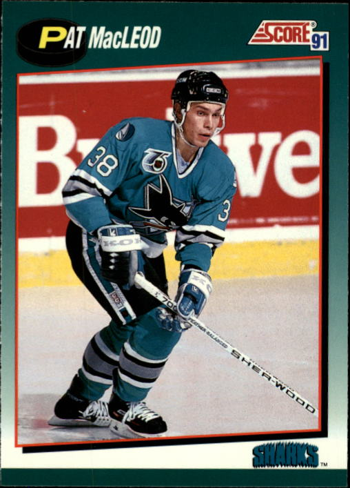 1991-92 Score Rookie Traded #95T Pat MacLeod RC