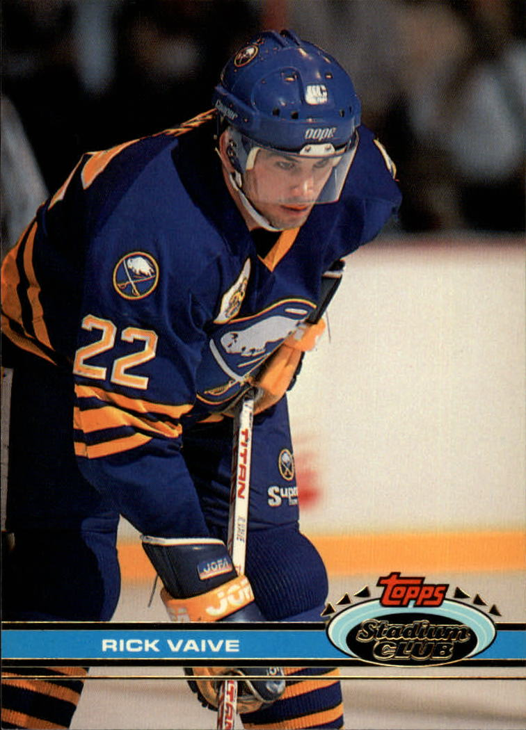 1991-92 Stadium Club #13 Rick Vaive