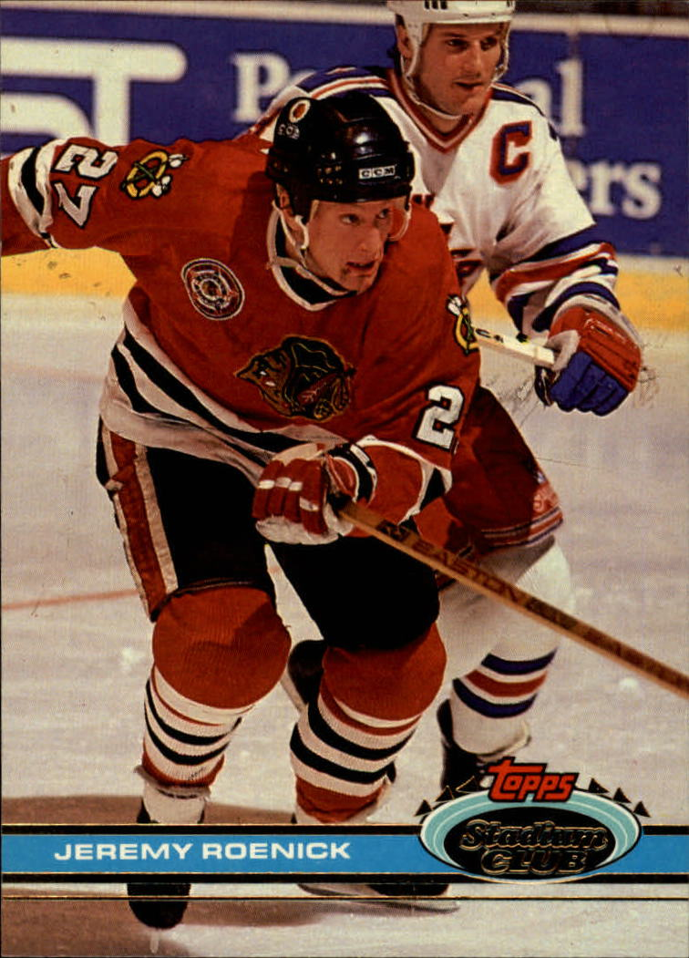 1991-92 Stadium Club #46 Jeremy Roenick