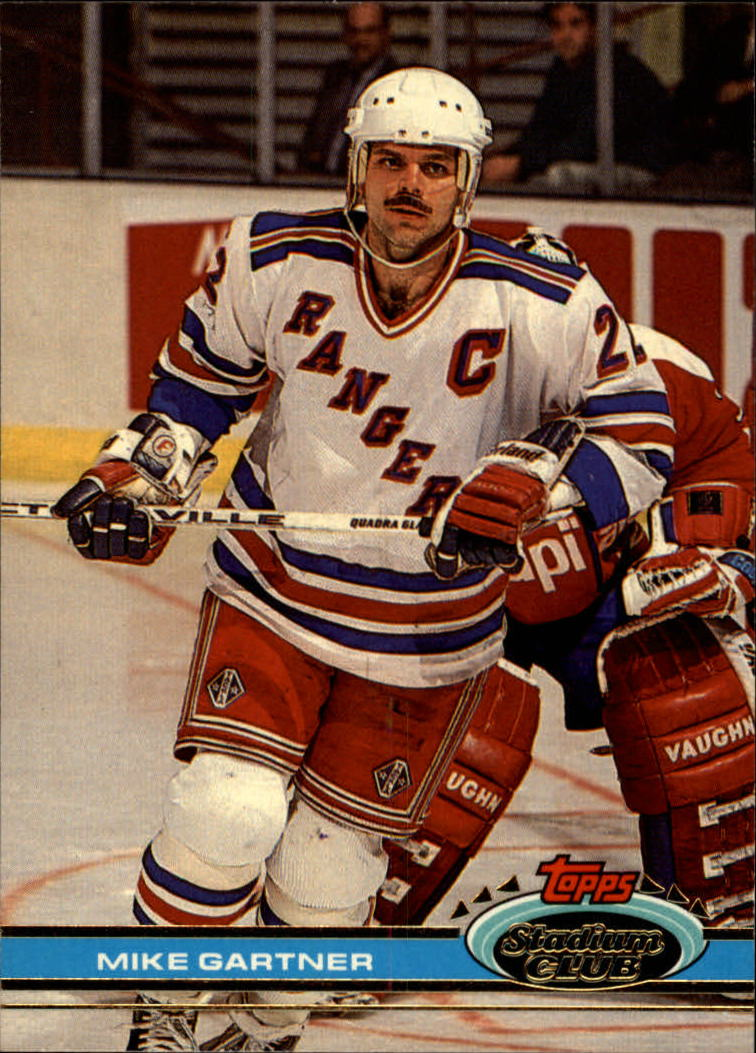 1991-92 Stadium Club #51 Mike Gartner
