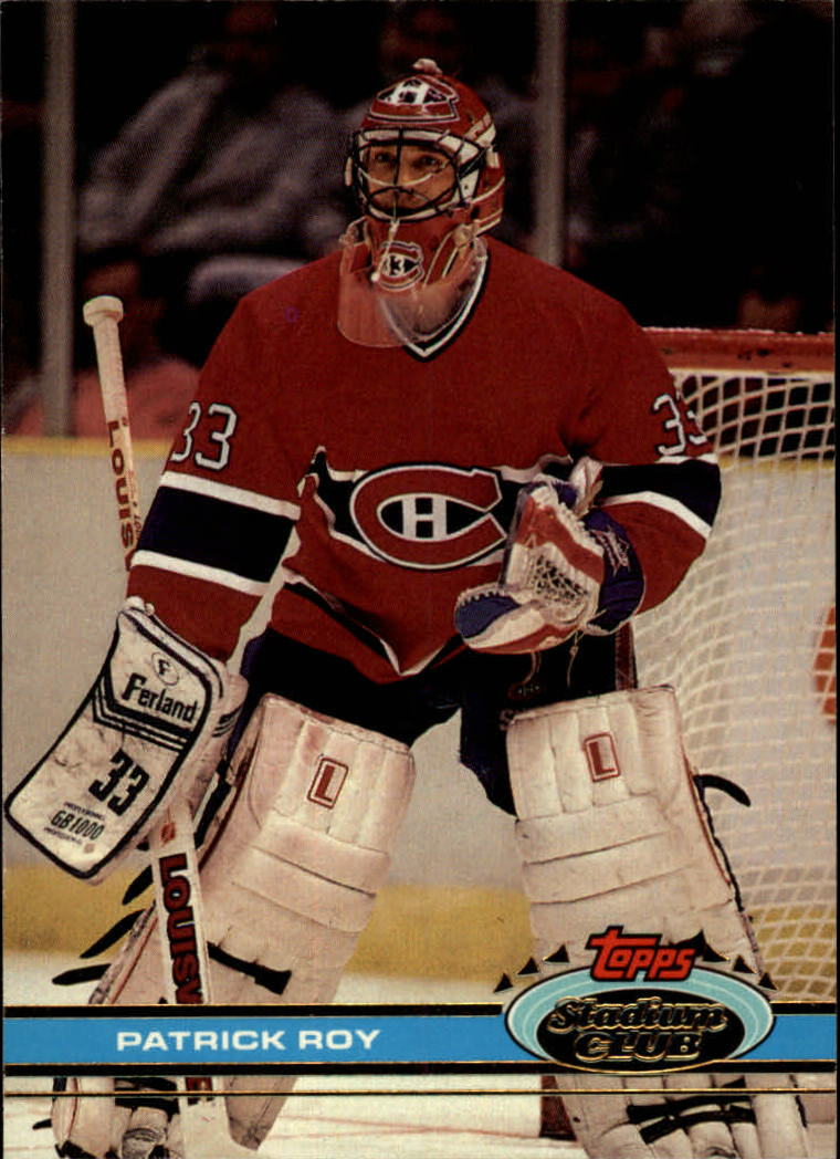 1991-92 Stadium Club #107 Patrick Roy