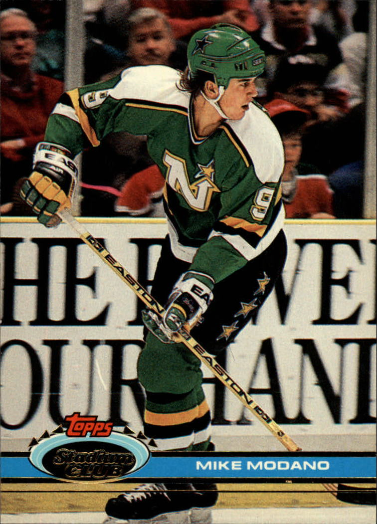 1991-92 Stadium Club #187 Mike Modano