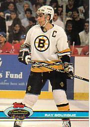 1991-92 Stadium Club #233 Ray Bourque