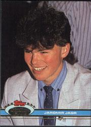 1991-92 Stadium Club #343 Jaromir Jagr