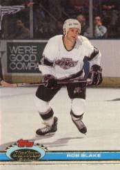 1991-92 Stadium Club #348 Rob Blake