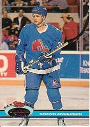 1991-92 Stadium Club #358 Shawn Anderson
