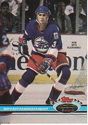 1991-92 Stadium Club #384 Bryan Marchment RC