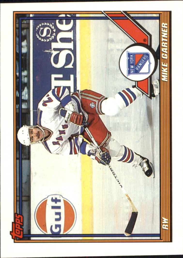 1991-92 Topps #46 Mike Gartner UER