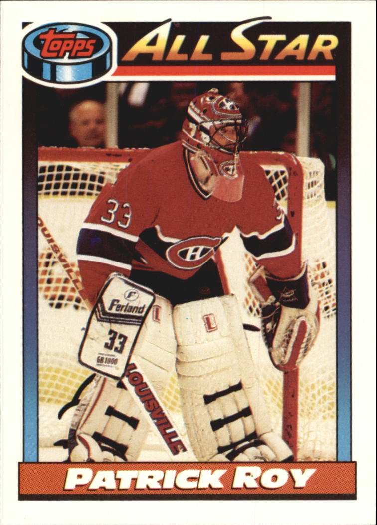 1991-92 Topps #270 Patrick Roy AS