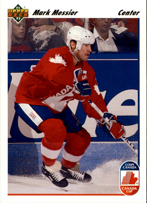 1991-92 Upper Deck #14 Mark Messier CC