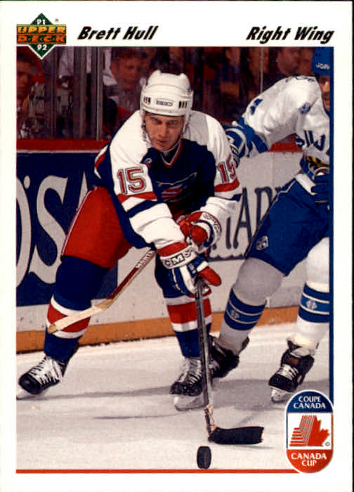 1991-92 Upper Deck #33 Brett Hull CC