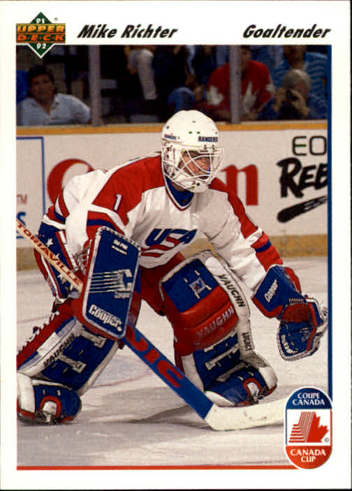 1991-92 Upper Deck #34 Mike Richter CC