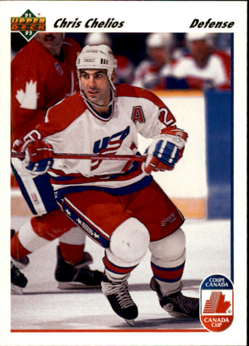 1991-92 Upper Deck #37 Chris Chelios CC