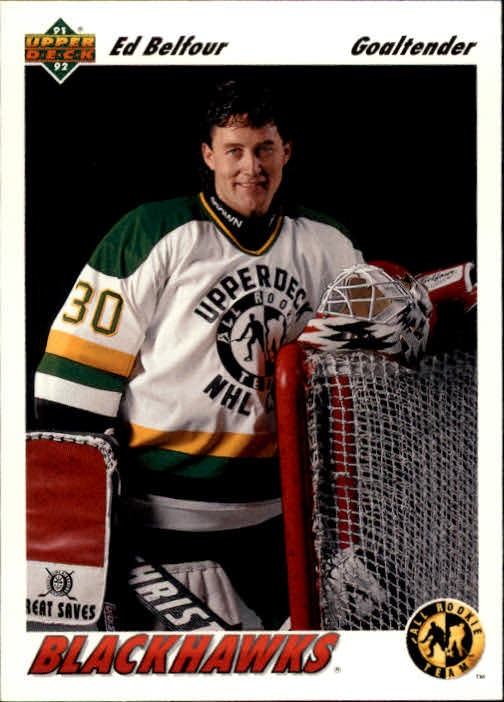 1991-92 Upper Deck #39 Ed Belfour ART