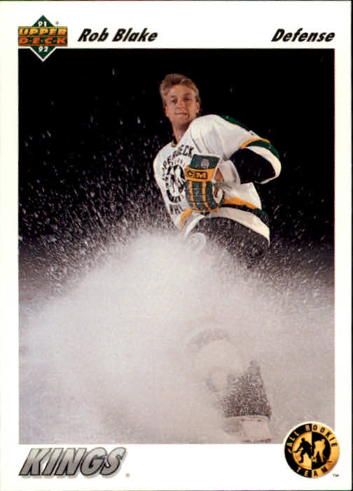 1991-92 Upper Deck #43 Rob Blake ART