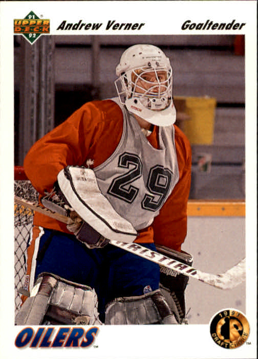 1991-92 Upper Deck #74 Andrew Verner RC