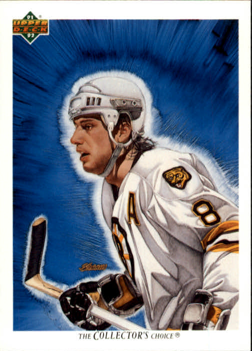 1991-92 Upper Deck #78 Cam Neely/(Boston Bruins TC)