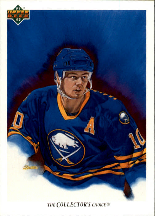 1991-92 Upper Deck #79 Dale Hawerchuk/(Buffalo Sabres TC)
