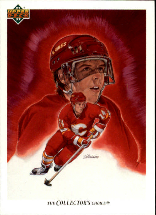 1991-92 Upper Deck #80 Theo Fleury TC