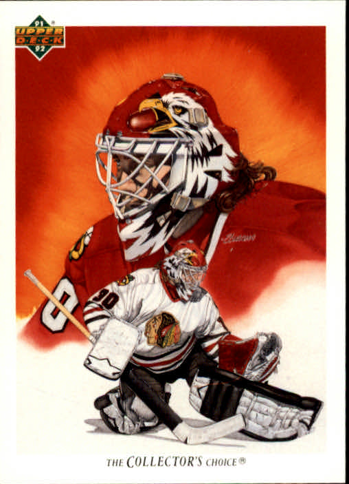 1991-92 Upper Deck #81 Ed Belfour TC