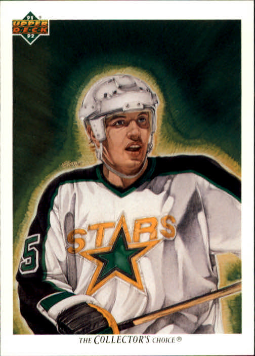1991-92 Upper Deck #86 Dave Gagner/(Minnesota North Stars TC)
