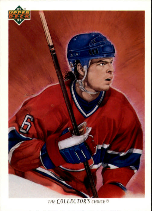 1991-92 Upper Deck #87 Russ Courtnall/(Montreal Canadiens TC)