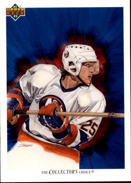 1991-92 Upper Deck #89 David Volek/(New York Islanders TC)