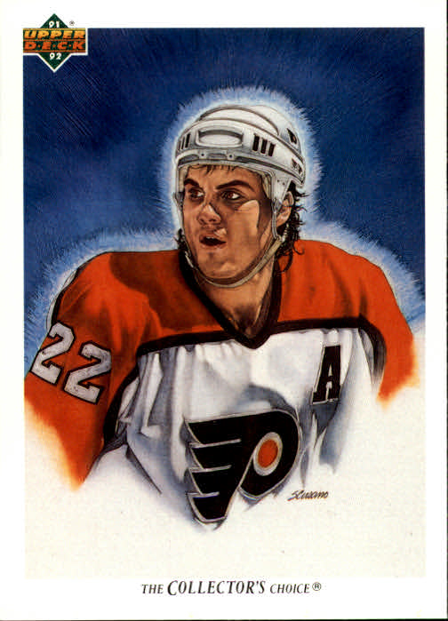 1991-92 Upper Deck #91 Rick Tocchet/(Philadelphia Flyers TC)