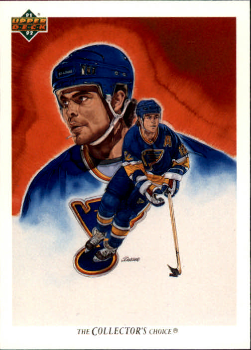 1991-92 Upper Deck #94 Adam Oates/(St. Louis Blues TC)