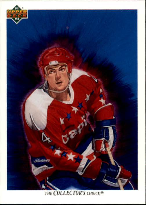 1991-92 Upper Deck #98 Kevin Hatcher/(Washington Capitals TC)