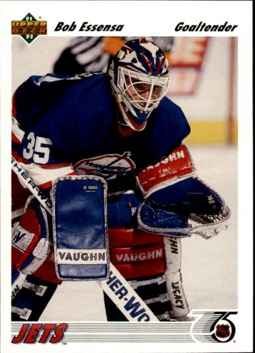 1991-92 Upper Deck #101 Bob Essensa