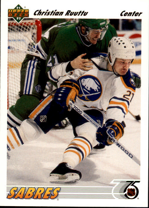 1991-92 Upper Deck #104 Christian Ruuttu