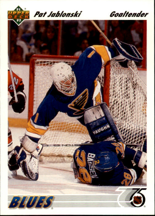 1991-92 Upper Deck #107 Pat Jablonski RC