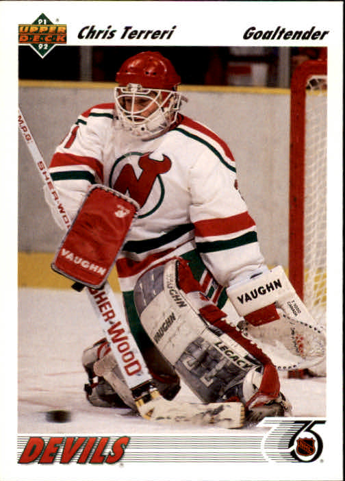 1991-92 Upper Deck #115 Chris Terreri