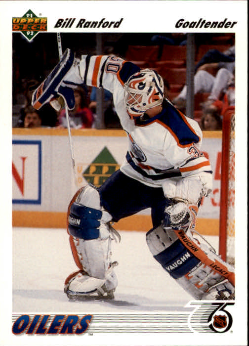 1991-92 Upper Deck #117 Bill Ranford