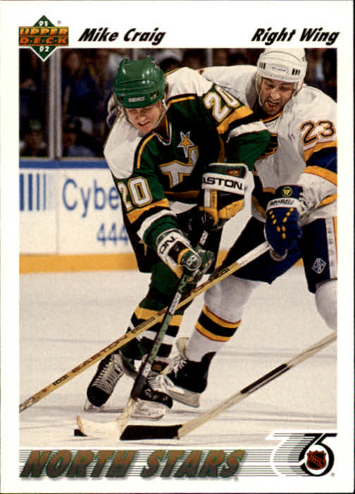 1991-92 Upper Deck #125 Mike Craig