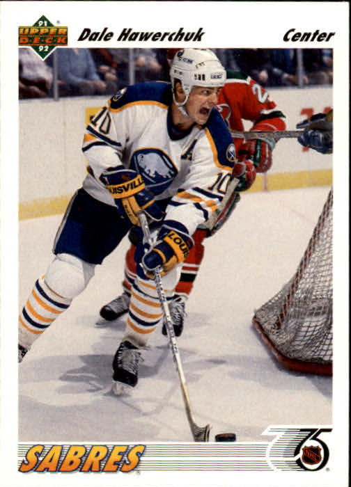 1991-92 Upper Deck #126 Dale Hawerchuk