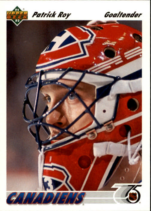 1991-92 Upper Deck #137 Patrick Roy