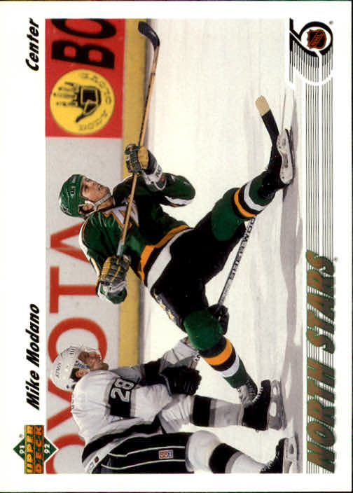 1991-92 Upper Deck #160 Mike Modano