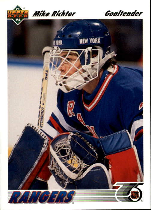 1991-92 Upper Deck #175 Mike Richter