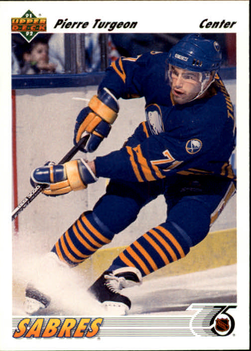 1991-92 Upper Deck #176 Pierre Turgeon
