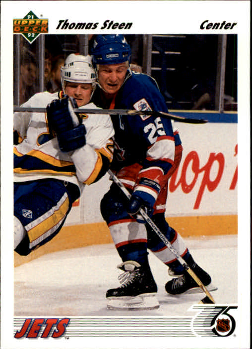 1991-92 Upper Deck #181 Thomas Steen